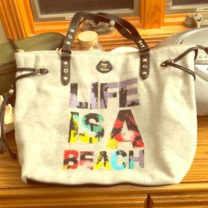 Juicy Couture TShirt Material Tote